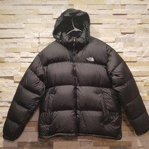 North Face Mens Black Nuptse Down Puffer Jacket XL